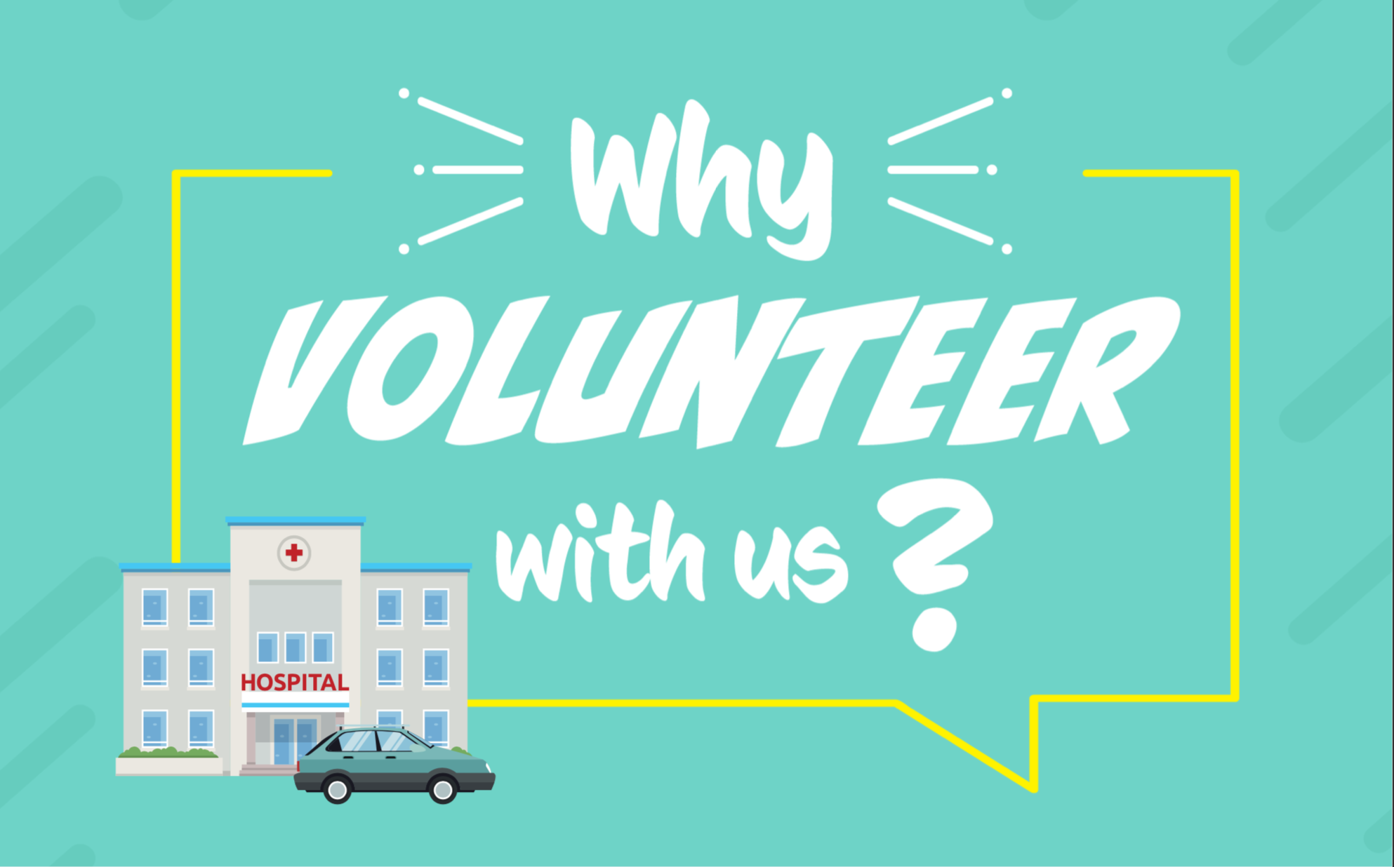 Why volunteer with us?